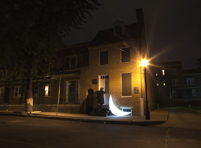 """""""Private Moon"""" and the Edgar Allan Poe House"""