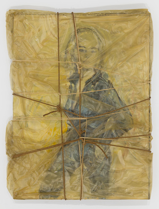 """artwork by Christo part of """"Hooray for Hollywood"""" at Mixed Greens & Pavel Zoubok gallery"""