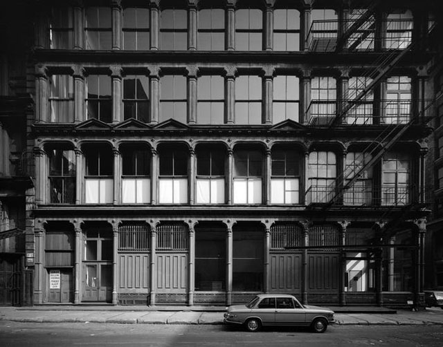 [Donald Judd House and Museum, 101 Spring Street.] (c. 1974), polyester negative, 4 x 5 in (all images collections.mcny.org)