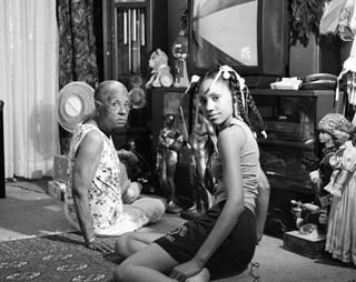 "LaToya Ruby Frazier, ""Grandma Ruby and Me"" (2005),  (image via Brooklyn Museum, Emily Winthrop Miles Fund, 2011.63.1. © LaToya Ruby Frazier)"