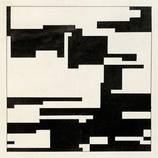 """Hiroshi Kawano, """"Design 2-1, Markov Chain Pattern"""" (1964) (click to enlarge)"""