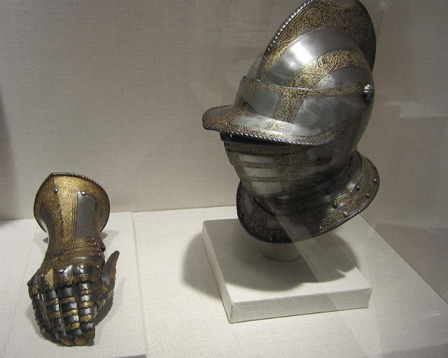 """""""Bashford Dean and the Creation of the Arms and Armor Department"""" at the Metropolitan Museum (photograph by the author)"""