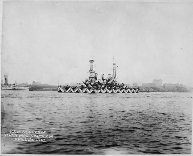 Nebraska (BB14) (1918) (via National Archives and Records Administration)