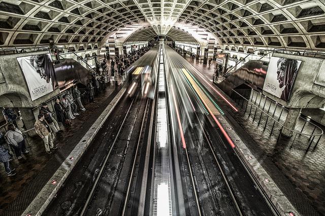The Washington, DC Metro (photograph by Howard Ignatius, via Flickr)