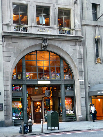 Rizzoli on 57th Street (photograph by Clyde Adams III, via Flickr)
