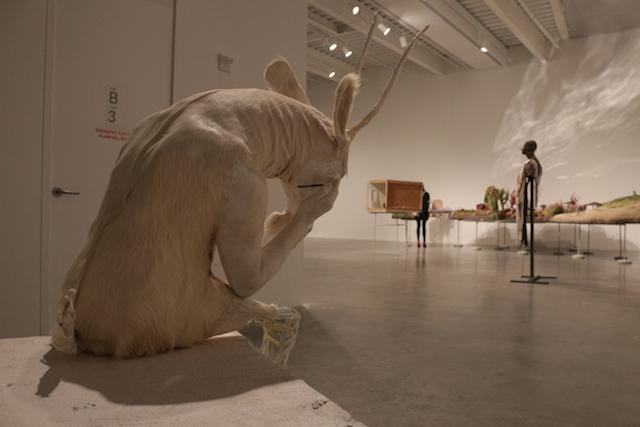 "Paweł Althamer, ""Self Portrait as the Billy Goat"" (2011)"