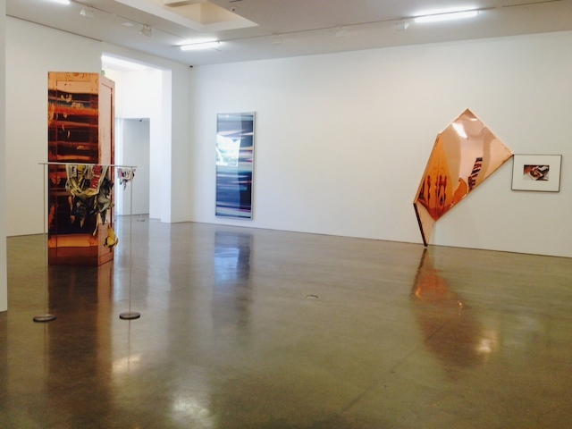 Installation view: Walead Beshty: Selected Bodies of Work. All images by the author for Hyperallergic.