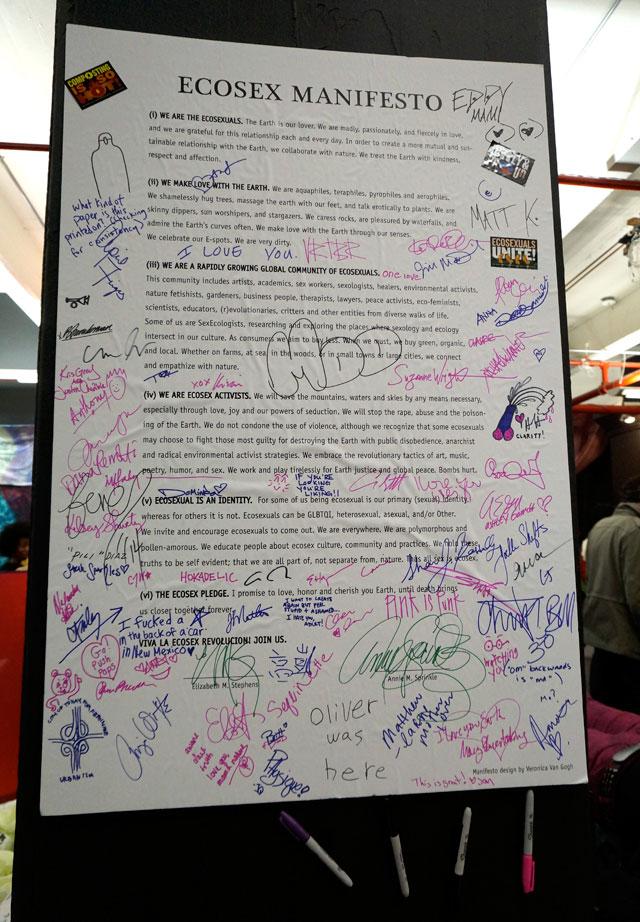 The Ecosex Manifesto