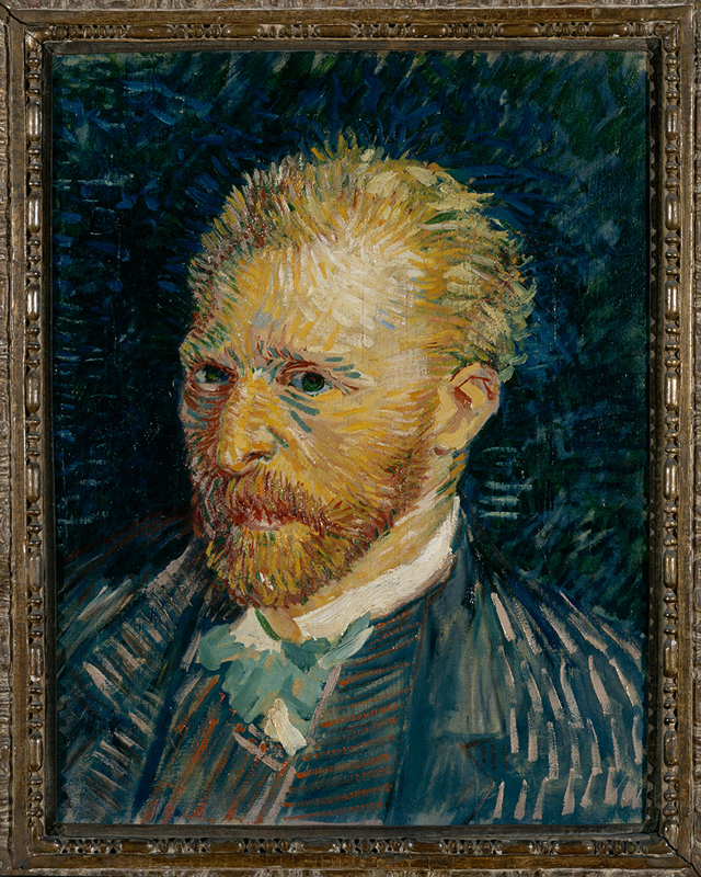 "Vincent Van Gogh, ""Self-portait"" (1889)"