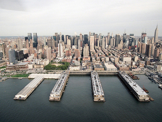 The Westside Piers where the Armory Show will take place in Manhattan. (via Armory Show)