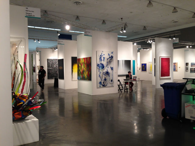 Installation view, Silicon Valley Contemporary (all photos by the author for Hyperallergic)