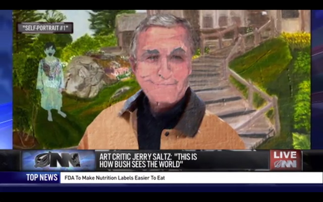 The Onion Skewers George W. Bush, the Painter