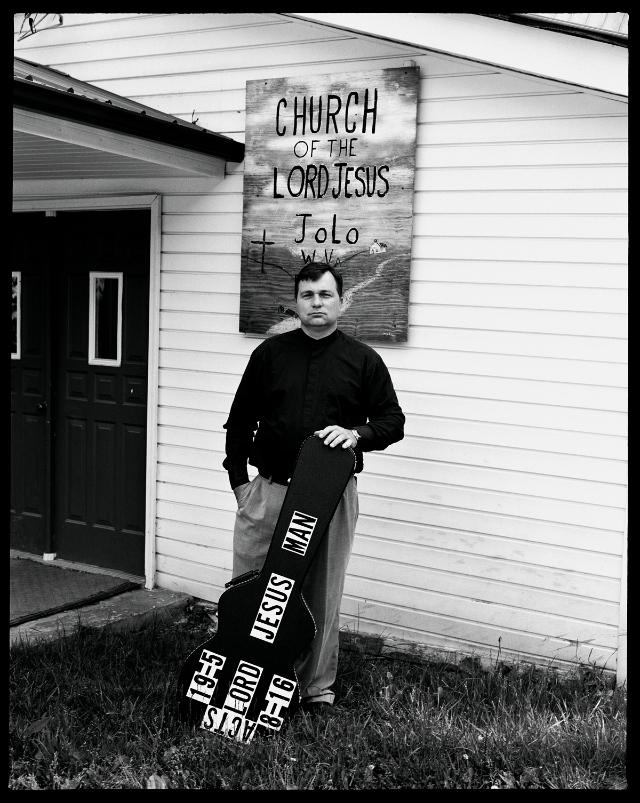 """Hunter Barnes, """"Portrait at the Jolo Church"""""""