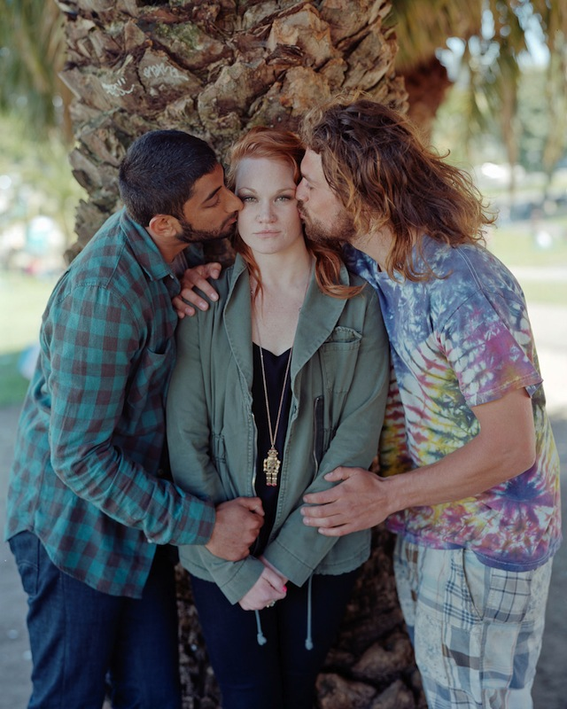 Tom, Alaina, and Charlie, 2012, San Francisco, CA from Touching Strangers  (Aperture, May 2014)