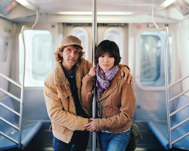 Alfredo and Jessica, 2011, New York, NY from Touching Strangers (Aperture, May 2014)