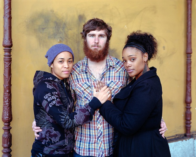 Tari, Shawn, and Summer, 2012, Los Angeles, CA from Touching Strangers (Aperture, May  2014)