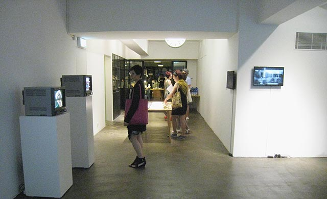 Artist Pension Trust Institute exhibit at Latitude 22N, Chai Wan Mei Eastern District