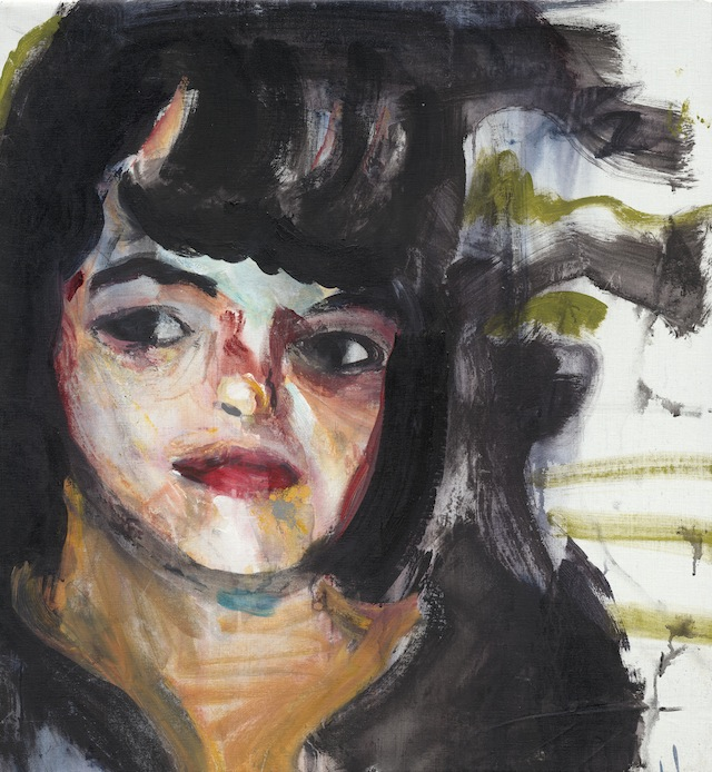 Brian Maguire's 2012 portrait of Guadalupe Veronica Castro (All images are courtesy of artist and Kerlin Gallery, Dublin)