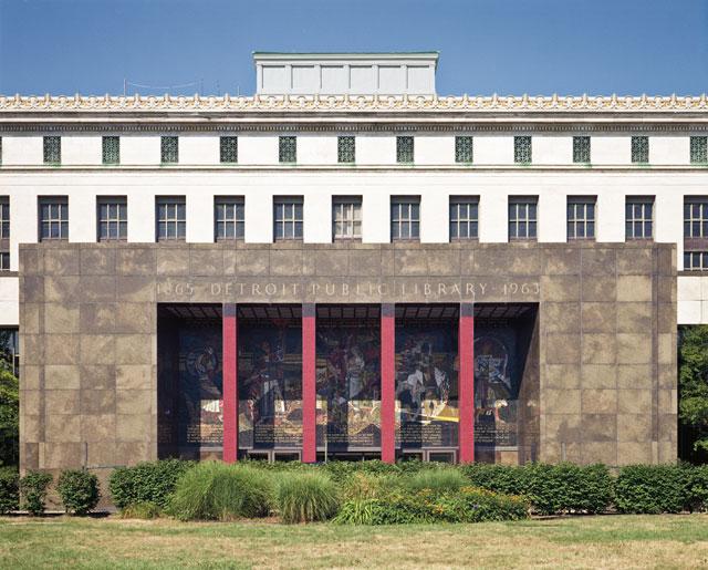 Richard Dawson, Main Library, Detroit, Michigan (2011)