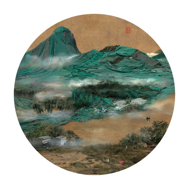 Yao Lu, Mount Zhong in the Mist, 2006. Image credit: © Yao Lu. Courtesy the artist.