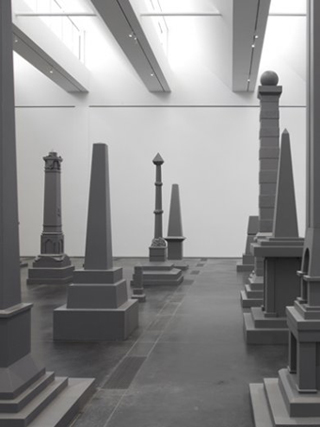 """Sam Durant, """"Proposal for White and Indian Dead Monument Transpositions, Washington, D.C."""" (2005) (image via LACMA.org)"""