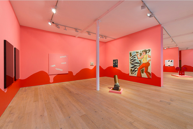 Installation view, Pace Gallery, London.