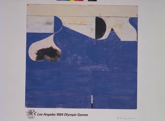 Richard Diebenkorn, LA Olympics poster (1984) (Knapp Communications Corporation, ed.)