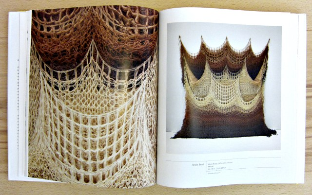"Art by Sherri Smith in ""Fiber: Sculpture 1960-Present"" (photograph by the author)"
