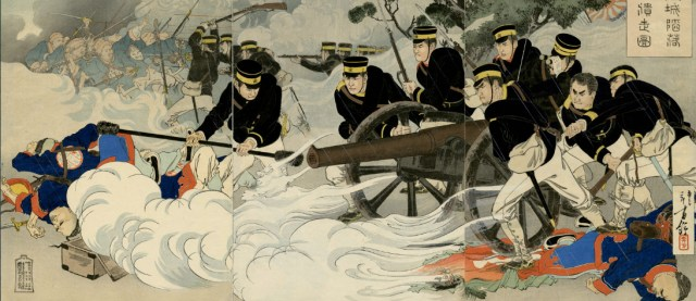 A Picture of the Fall of Hoojō (Fenghuangcheng)