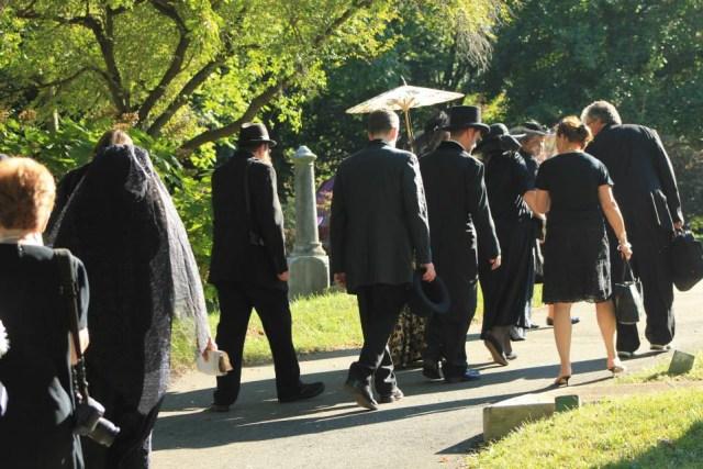 Procession at Oak Hill Cemetery_ photo by John Punsalan