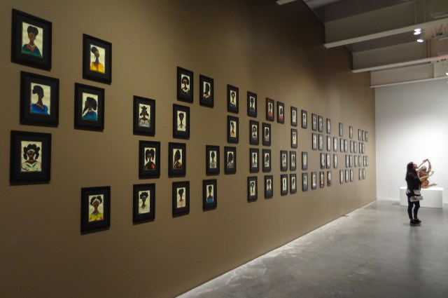 Installation view of 'Chris Ofili: Night and Day' at the New Museum