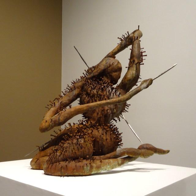 "Chris Ofili, ""Saint Sebastian"" (2007)"