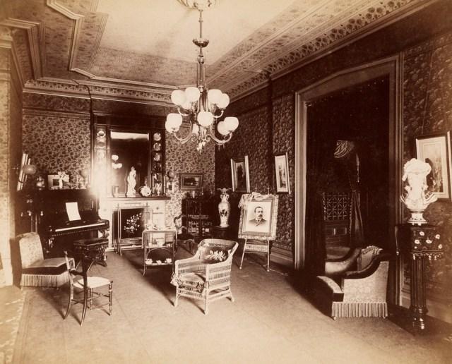 B.J. Smith, interior of 353 Clinton Avenue