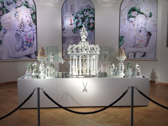 Antemann's work on display at Meissen
