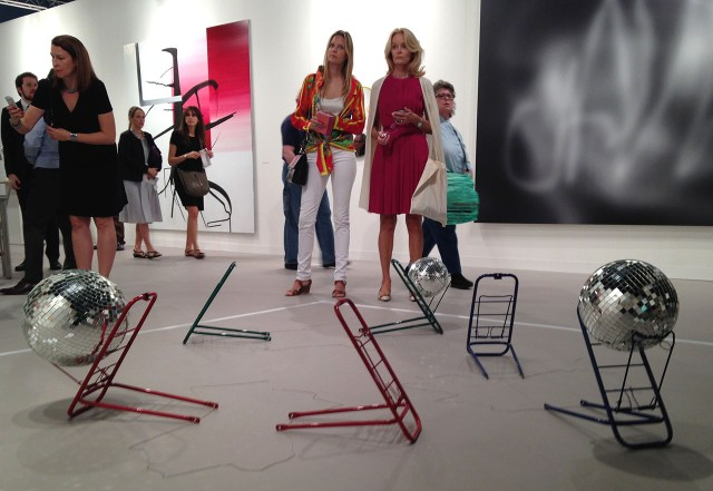 Art Basel Miami Beach 2014 (photo by the author for Hyperallergic)