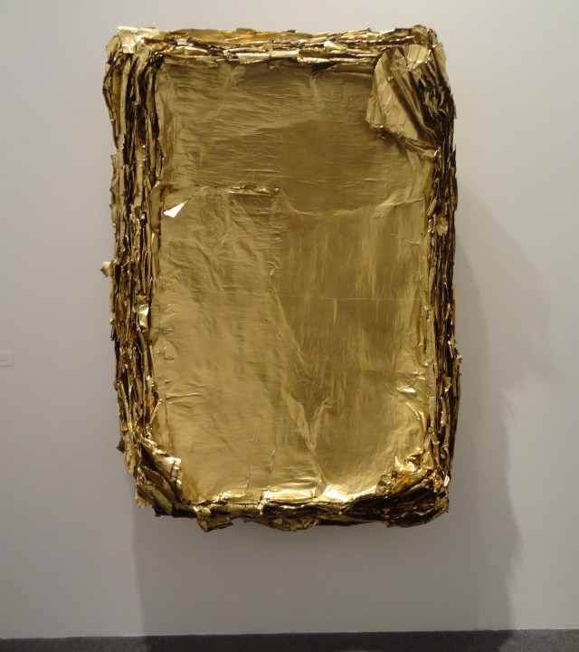 """Eric Baudart, """"Concave"""" (2013) in 'GOLD' at the Bass Museum of Art"""