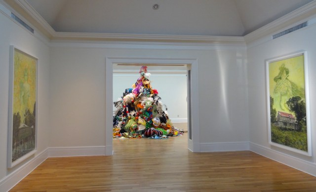 Installation view of 'Prospect.3: Notes for Now' at the Newcomb Art Gallery (all photos by the author for Hyperallergic)