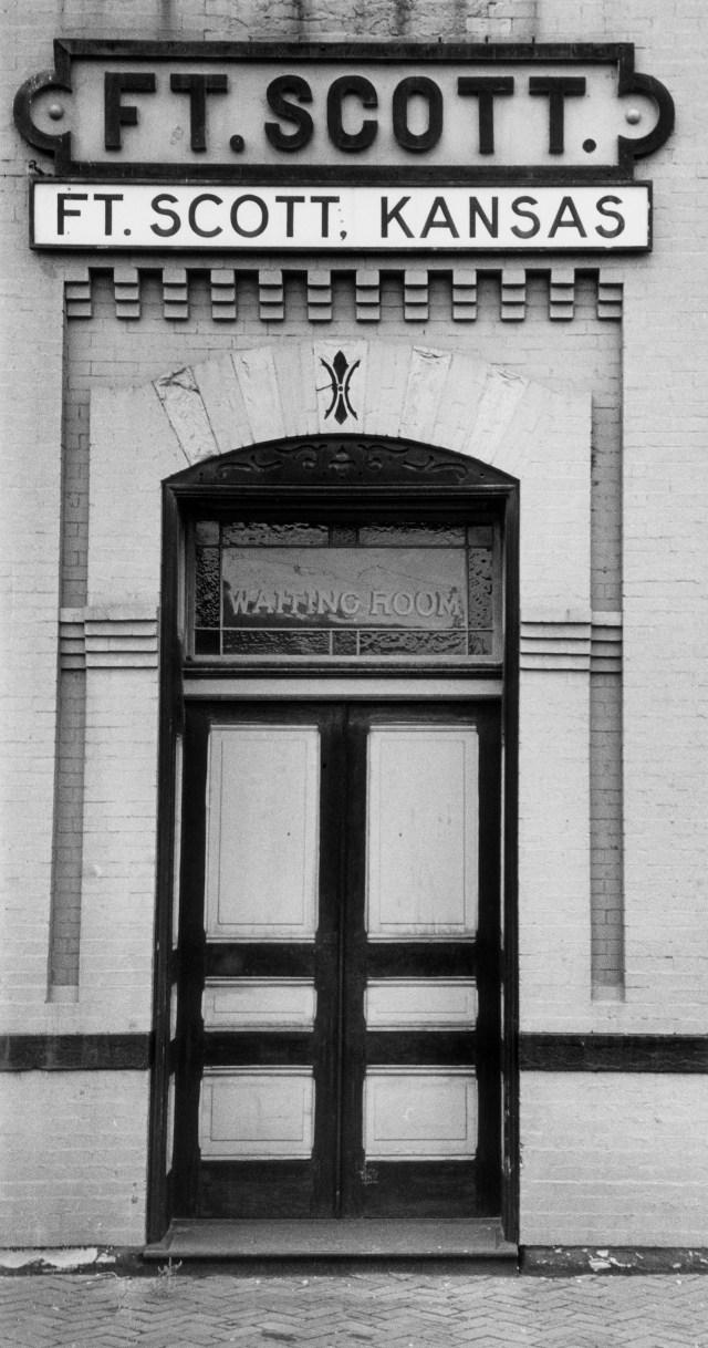 03. Railway Station Entrance, Fort Scott
