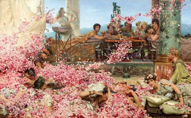 "Lawrence Alma-Tadema, ""The Roses of Heliogabalus"" (1888)"