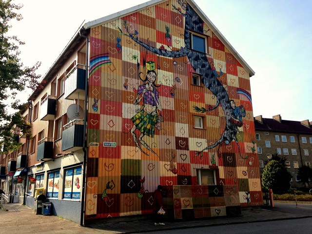 A mural by Limpo