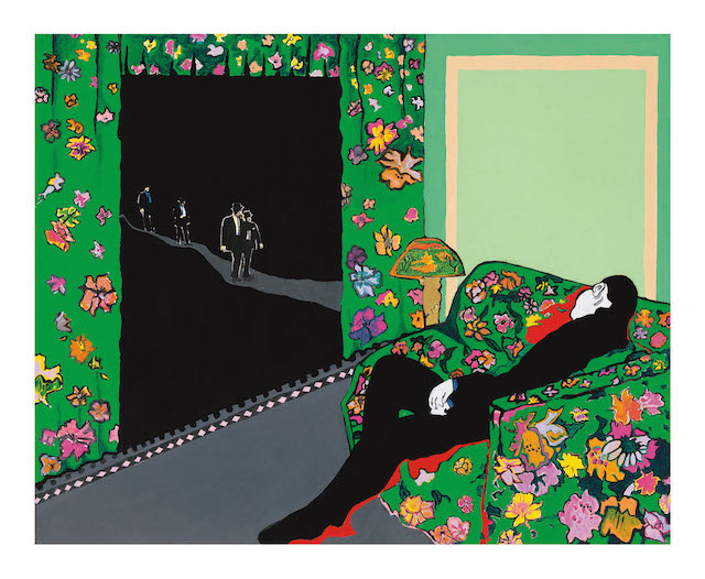 Rosalyn Drexler, Night Visitors (1988)