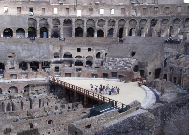 The Colosseum (photo by Bjf/Wikimedia Commons)