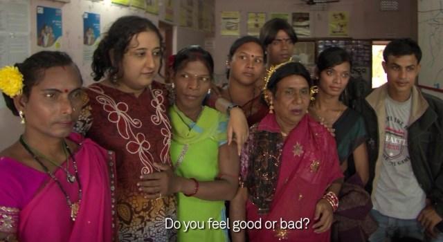 Still from Carlos Motta's 'Gender Portraits' segment on Amitava Sarkar in Kolkata, India (screenshot by the author)