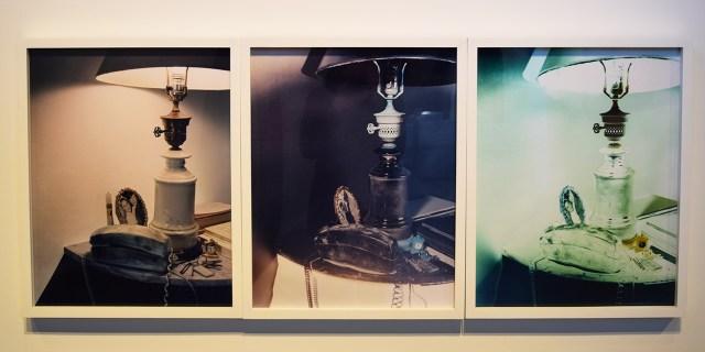"Matthew Leifheit and Cynthia Talmadge, ""Sharon Tate Bedside Table 1969"" (2014) at Pioneer Works"