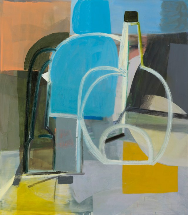 """Amy Sillman, """"Still Life 2"""" (2014), oil on canvas (courtesy the artist and Sikkema Jenkins & Co., New York; artwork © 2014 Amy Sillman; Photo by John Berens)"""