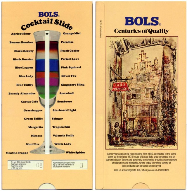 Vintage Bols Cocktail slide (via rekeninstrumenten.nl)