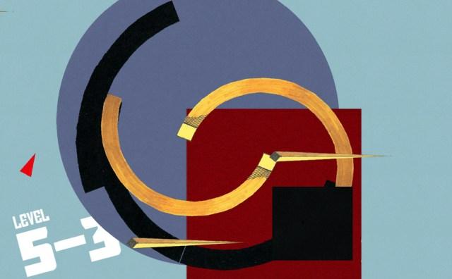 Scene from 'Lissitzky's Revenge' (courtesy Christopher Totten)