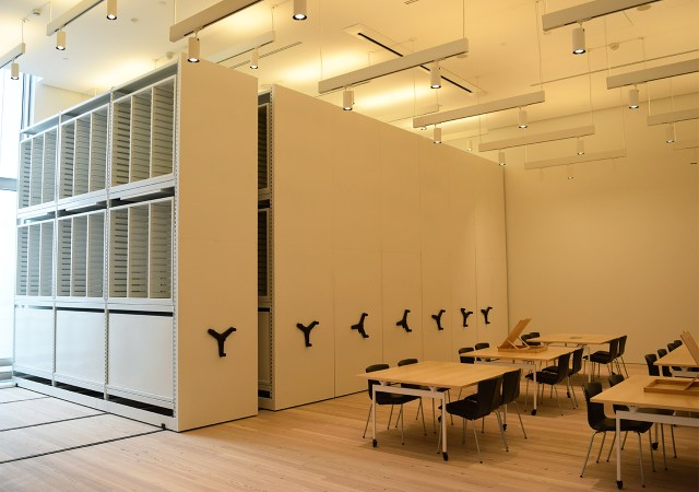 The Whitney's new print, drawing, and photo study center
