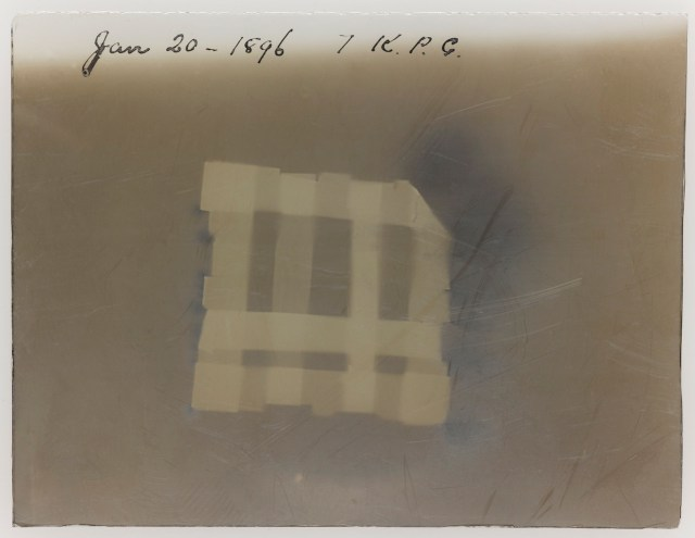 Glass Plate X-Ray Negative, 1896, Sir William Crookes © Science Museum / SSPL