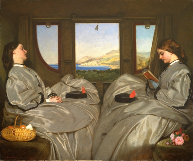 """Augustus Leopold Egg, """"The Travelling Companions"""" (1862) (Birmingham Museum and Art Gallery, via Wikimedia Commons)"""